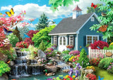 Mini Waterfall & Beautiful House - diamond-painting-bliss.myshopify.com