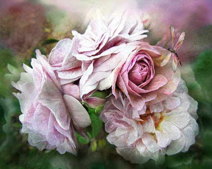 Miracle of a Rose by Carol Cavalaris - diamond-painting-bliss.myshopify.com