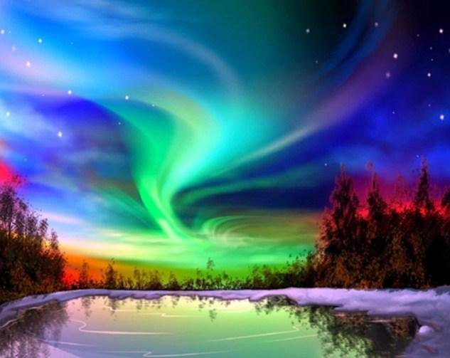 Northern Lights United States - diamond-painting-bliss.myshopify.com