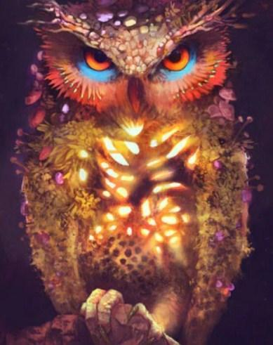 Owl's Magic Diamond Painting - diamond-painting-bliss.myshopify.com
