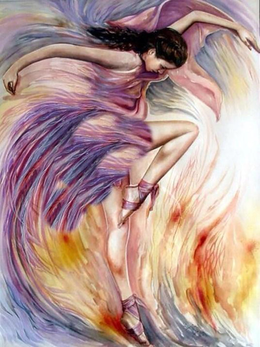 Passionate Dancer by Christiane Vleugels - diamond-painting-bliss.myshopify.com