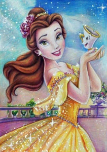 Princess Bella - Paint by Diamonds - diamond-painting-bliss.myshopify.com