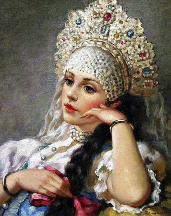 Russian Heritage Painting - Paint by Diamonds - diamond-painting-bliss.myshopify.com