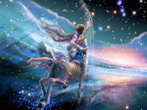 Sagittarius Zodiac - Paint by Diamonds - diamond-painting-bliss.myshopify.com