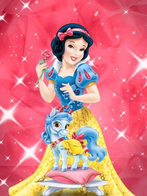 Disney Princess with Palace Pets - DIY Diamond Painting - diamond-painting-bliss.myshopify.com
