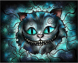 Paint with Diamonds Art Kit - Scary Cat - diamond-painting-bliss.myshopify.com