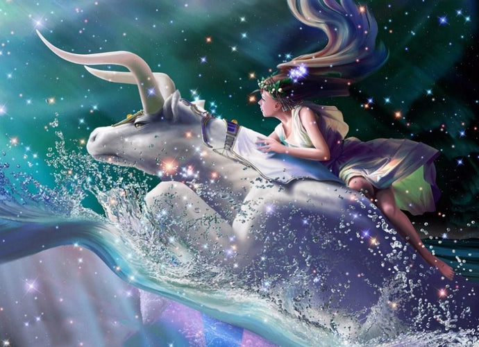 Taurus Zodiac - Diamond Painting Kit - diamond-painting-bliss.myshopify.com