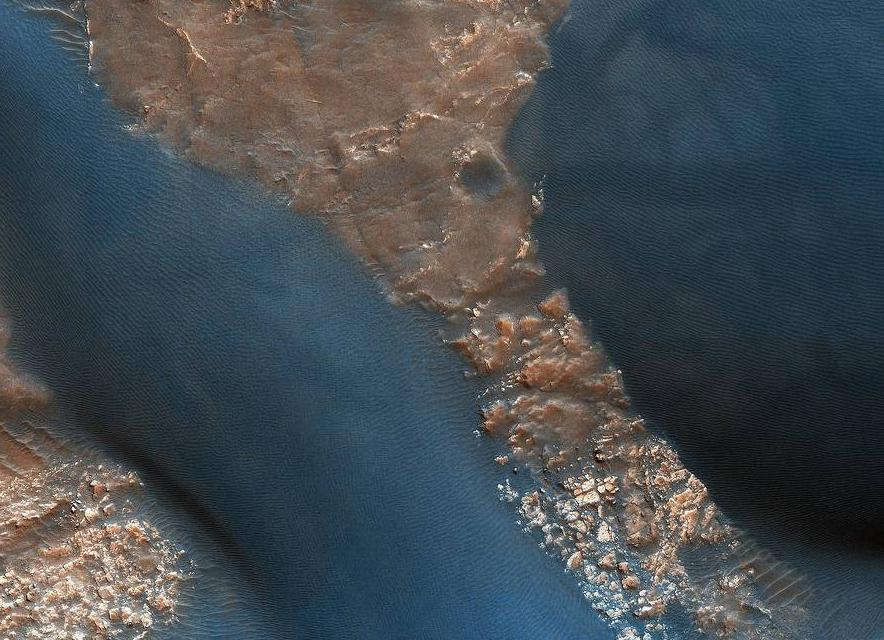 The Dunes in Mars' Wirtz Crater - diamond-painting-bliss.myshopify.com