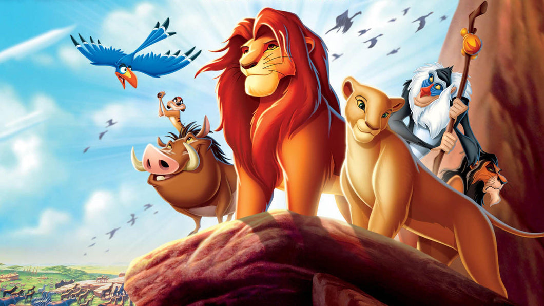 The Lion King - Disneyland Cartoons - diamond-painting-bliss.myshopify.com