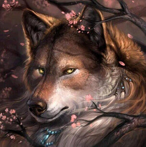 Wolf Full Drill Painting Kit - diamond-painting-bliss.myshopify.com
