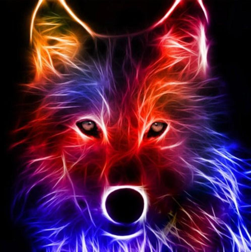 Wolf Spirit Art Diamond Painting - diamond-painting-bliss.myshopify.com