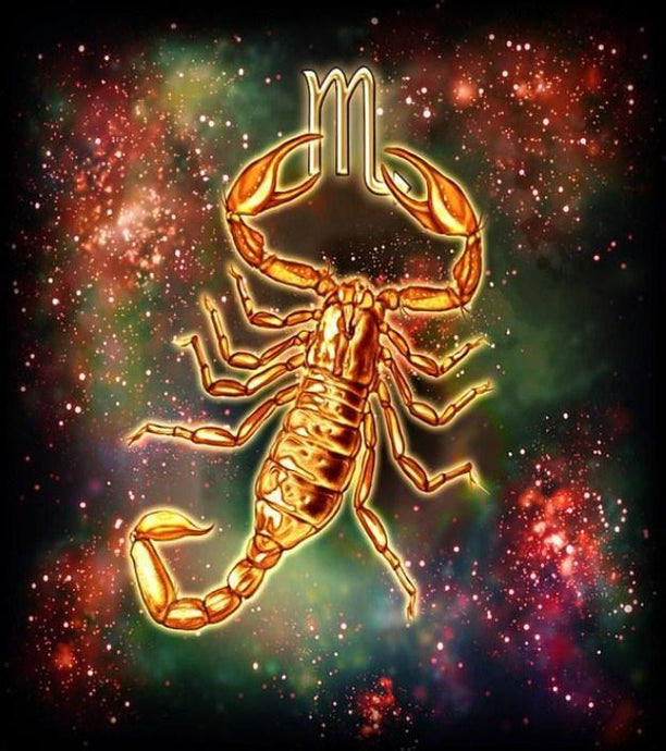 Zodiac Scorpio - Paint by Diamonds - diamond-painting-bliss.myshopify.com