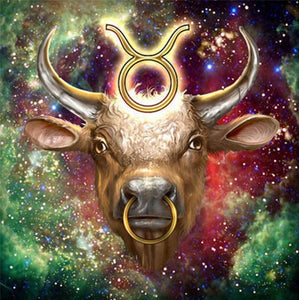 Zodiac Taurus - Paint with Diamonds - diamond-painting-bliss.myshopify.com