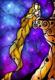 Stained Glass Disney Rapunzel - DIY Painting Kit - diamond-painting-bliss.myshopify.com