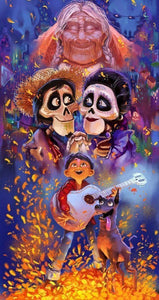 Disney Cartoons Coco - 5D Drills - diamond-painting-bliss.myshopify.com