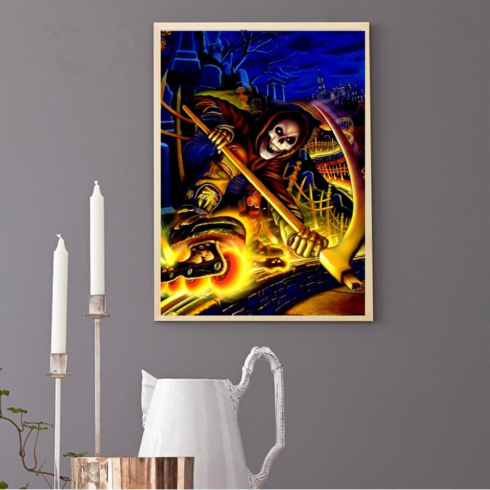 Halloween Colorful Painting