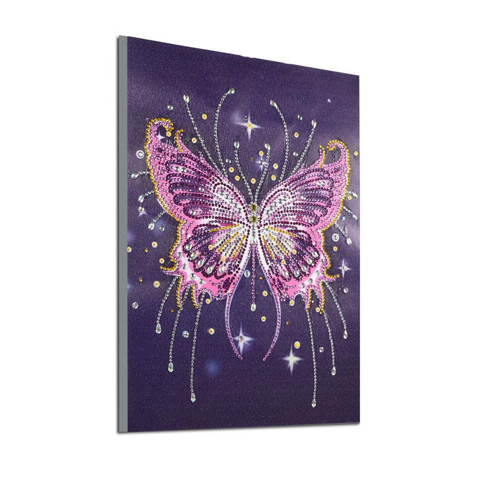 4Pcs Set Colorful Butterfly And Flower