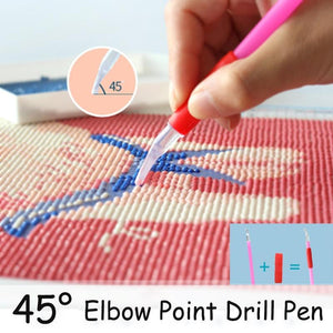 45 Degree Elbow Diamond Painting Pen - diamond-painting-bliss.myshopify.com