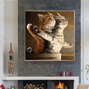Romantic Cats Special Painting