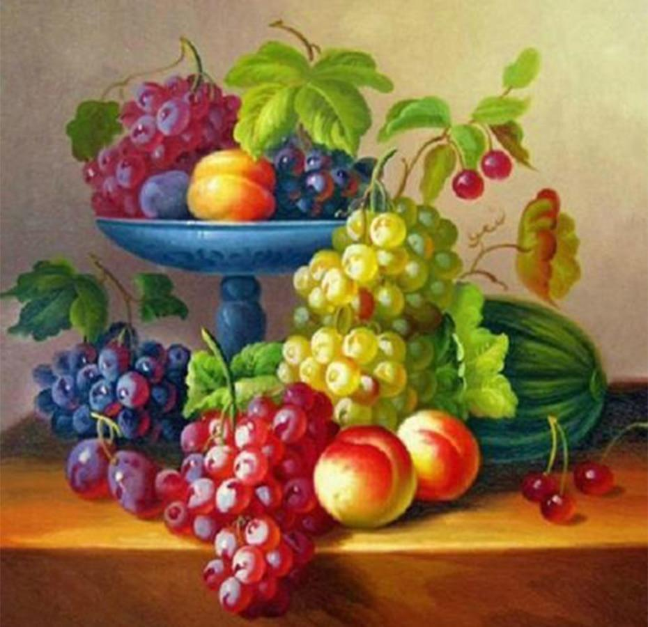 Yummy Fruits Collection DIY Painting - diamond-painting-bliss.myshopify.com