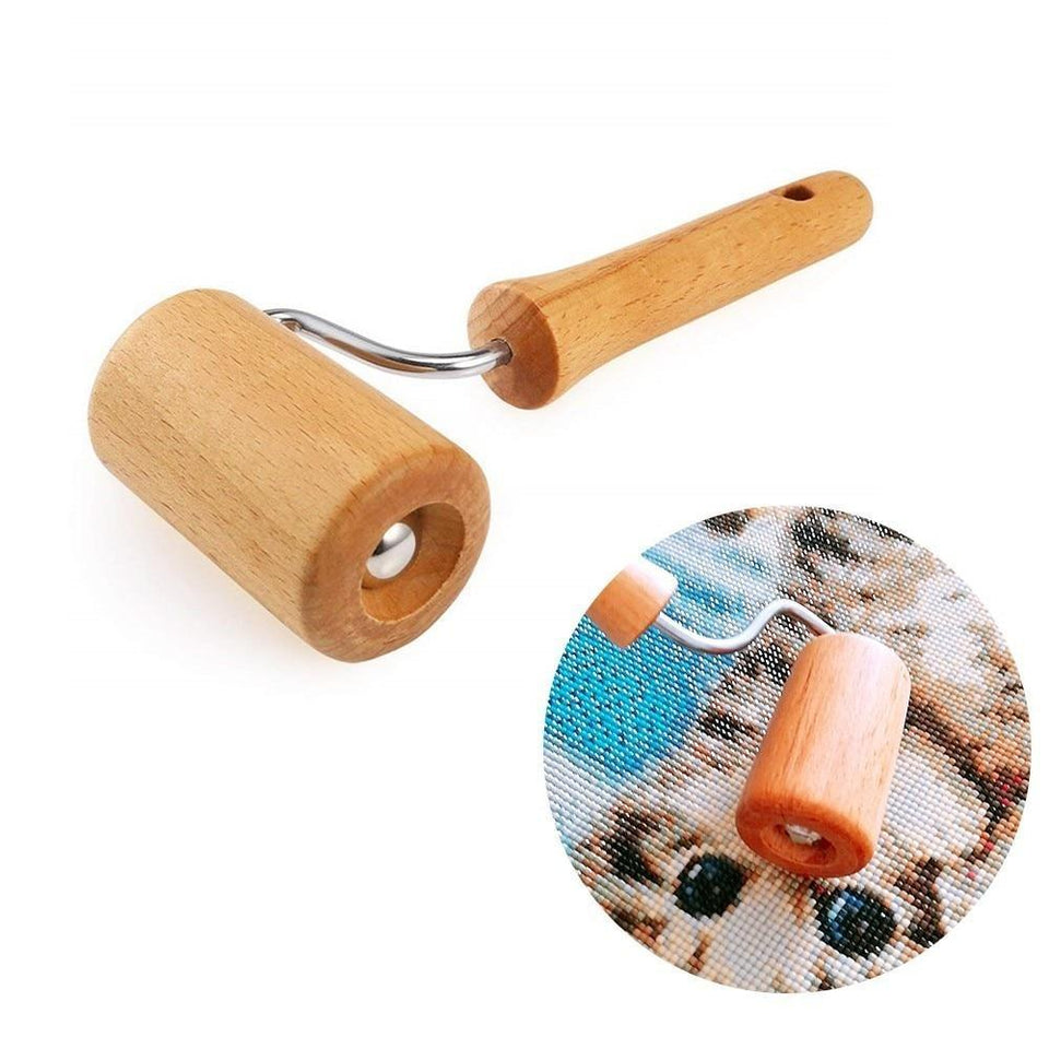 Wooden Roller Tool for Diamond Painting - diamond-painting-bliss.myshopify.com
