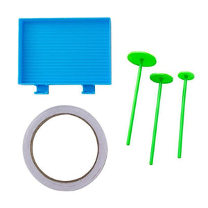 Plastic Tray & Wheel Tools Kits - diamond-painting-bliss.myshopify.com