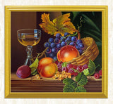 Wine Glass & Fruits Still Life Diamond Painting - diamond-painting-bliss.myshopify.com