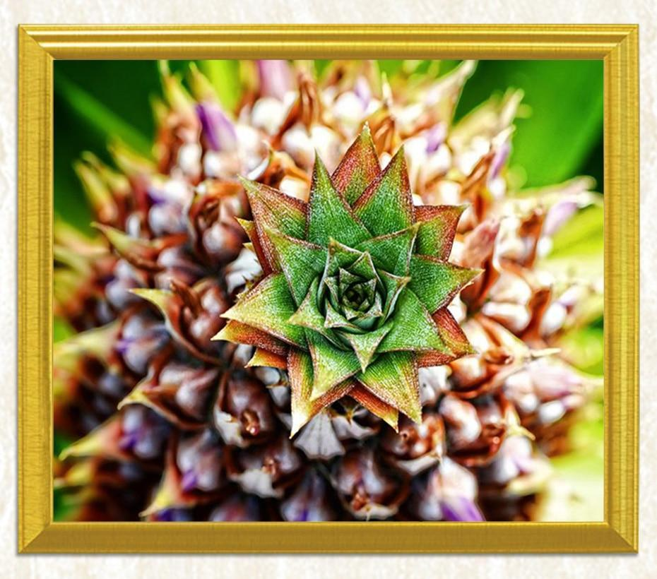 Tropical Pineapple Art DIY Painting - diamond-painting-bliss.myshopify.com