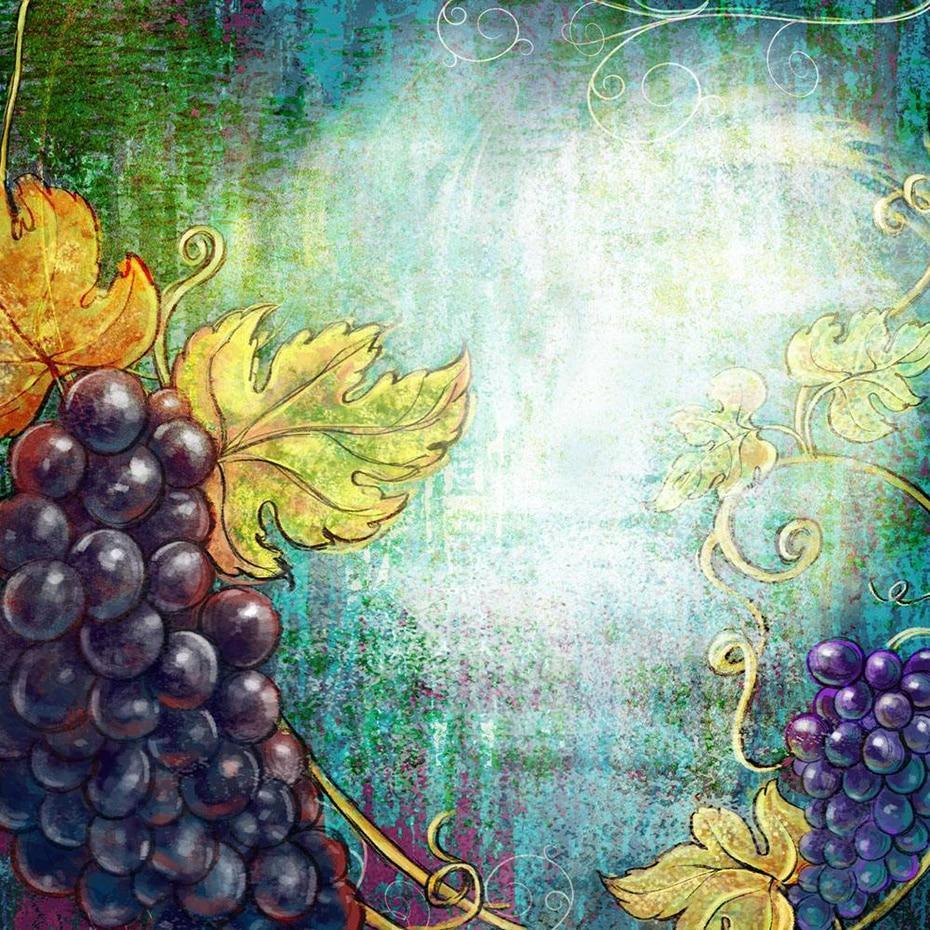Still Life Grapes DIY Painting - diamond-painting-bliss.myshopify.com