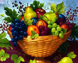 Mix Fruit Basket - DIY Diamond Painting - diamond-painting-bliss.myshopify.com