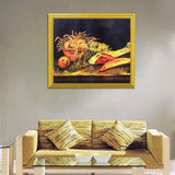 Apples Meat & Rolls - Vincent Van Gogh - diamond-painting-bliss.myshopify.com