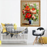 Flower Pot DIY Diamond Painting - diamond-painting-bliss.myshopify.com