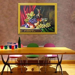 Still Life Fruits DIY Diamond Painting Kit - diamond-painting-bliss.myshopify.com