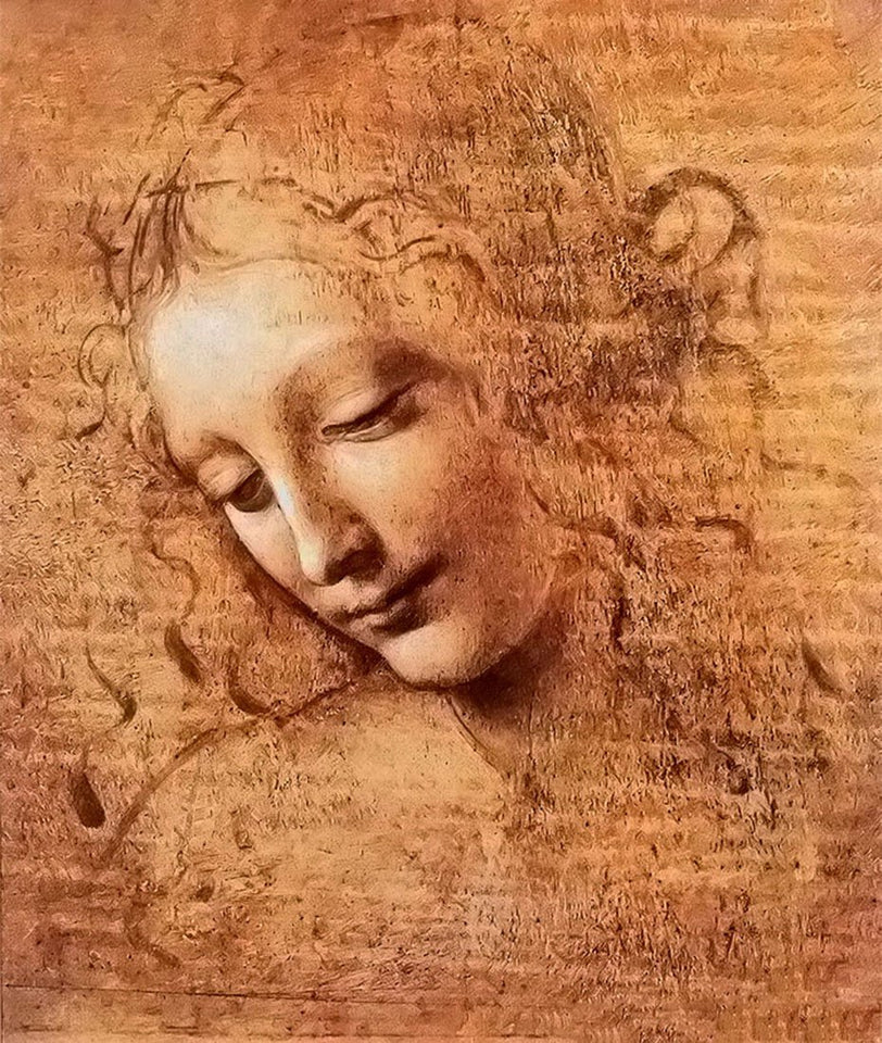 Girl Portrait  Diamond Painting - Leonardo Da Vinci - diamond-painting-bliss.myshopify.com