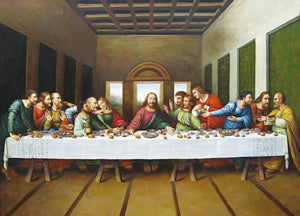 The Last Supper - Leonardo Da Vinci - diamond-painting-bliss.myshopify.com