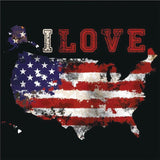 I LOVE USA | DIY Diamond Art Painting - diamond-painting-bliss.myshopify.com