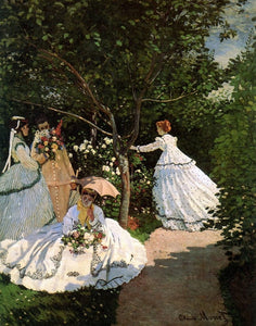 Women in the Garden - Claude Monet - diamond-painting-bliss.myshopify.com