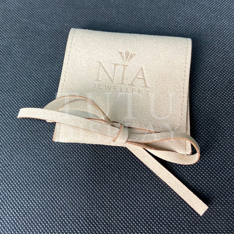 jewellery pouch with ribbon