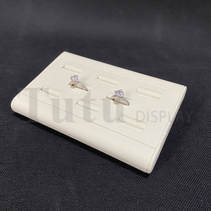 Jewelry Display | Ring Display | 8pcs Ring Stand | PU Leather Display