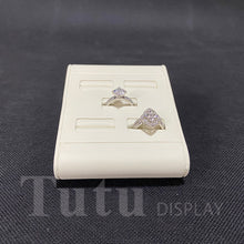 Load image into Gallery viewer, Jewelry Display | Ring Display | 5pcs Ring Stand | PU Leather Display