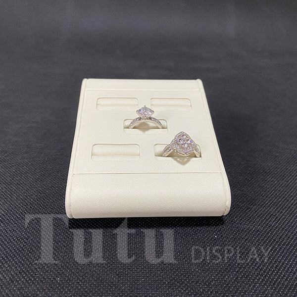 Jewelry Display | Ring Display | 5pcs Ring Stand | PU Leather Display