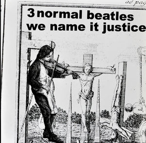 "LP 3 NORMAL BEATLES ""WE NAME IT JUSTICE"""