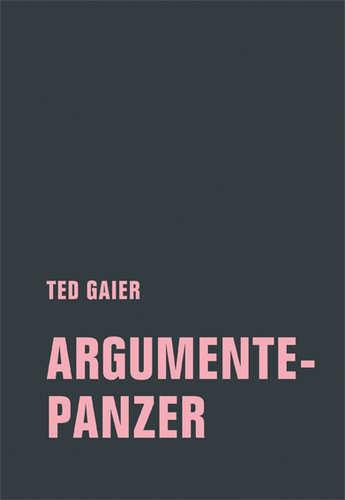 TED GAIER- ARGUMENTEPANZER