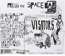 "Laden Sie das Bild in den Galerie-Viewer, LP CHICKS ON SPEED AND THE NOHEADS - ""PRESS THE SPACE BAR"""
