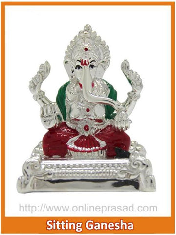 The Sitting Ganesha Idol , Zevotion - Sai Shagun, OnlinePrasad.com
