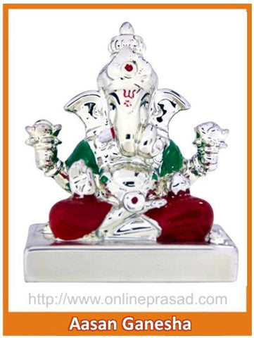 The Aasan Ganesha Idol , Zevotion - Sai Shagun, OnlinePrasad.com