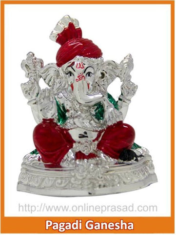 The Pagadi Ganesha Idol , Zevotion - Sai Shagun, OnlinePrasad.com