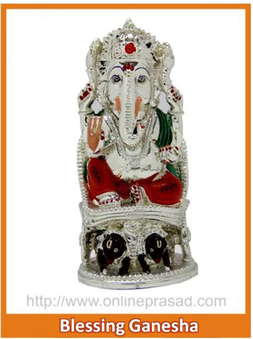 The Blessing Ganesha Idol , Zevotion - Sai Shagun, OnlinePrasad.com