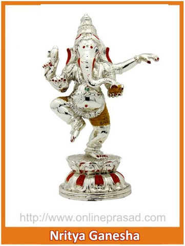 The Nritya Ganesha Idol , Zevotion - Sai Shagun, OnlinePrasad.com