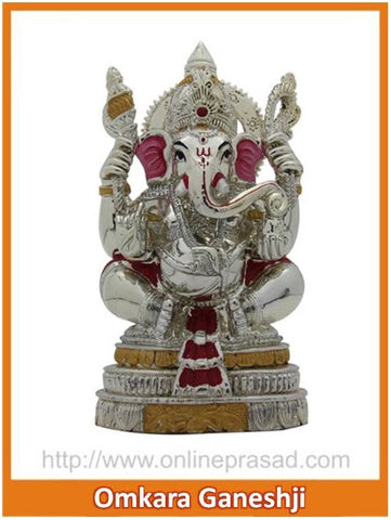 The Omkara Ganeshji Idol , Zevotion - Sai Shagun, OnlinePrasad.com
